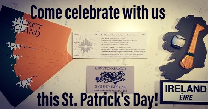 Come celebrate with us this St. Patrick's Day
